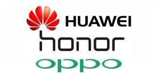 huawei honor oppo