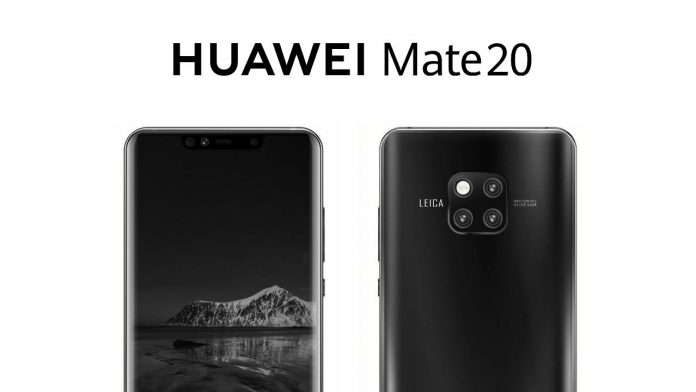 huawei mate 20 pro render