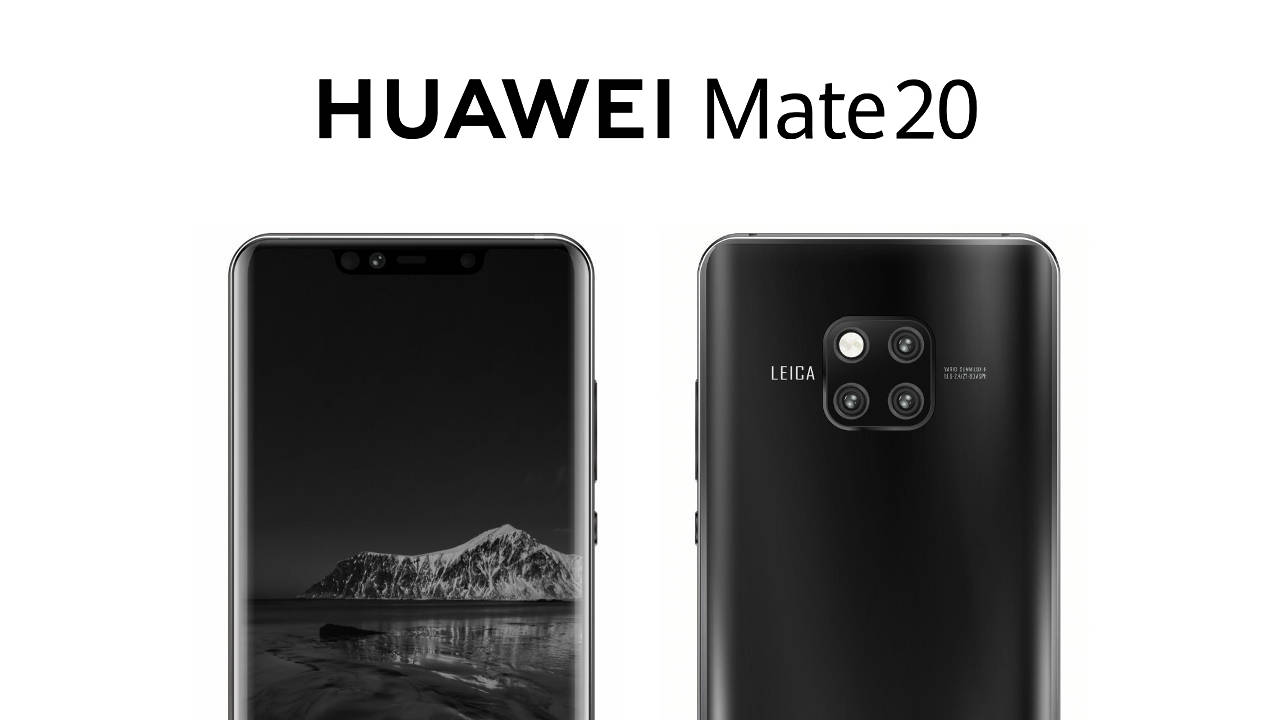Huawei Mate 20 Pro Display Notch And A Few Frames In