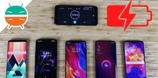 OPPO Encuentra X vs OnePlus 6 vs Xiaomi Mi 8 vs Huawei P20 Pro vs Samsung Galaxy S8