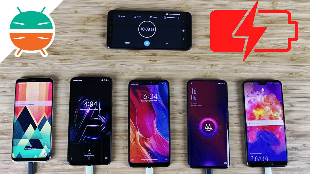 OPPO Find X vs OnePlus 6 vs Xiaomi Mi 8 vs Huawei P20 Pro vs