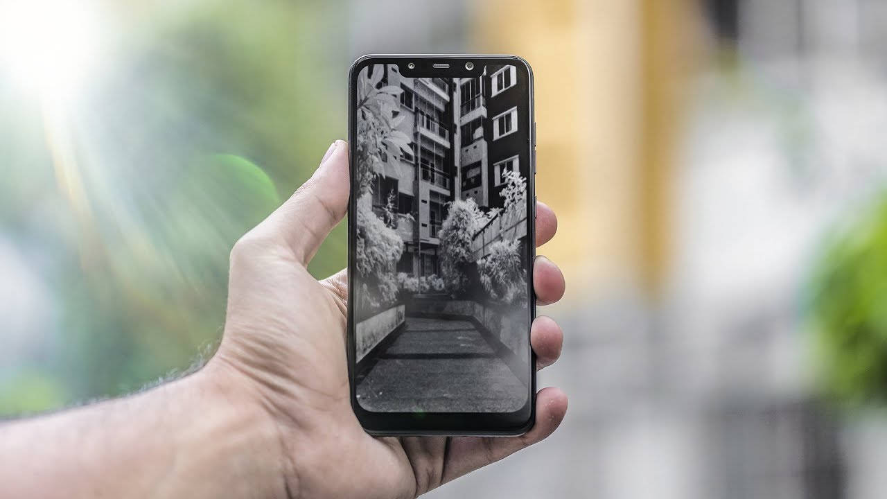 POCO F1: how to take infrared photos with the Face ID - GizChina it