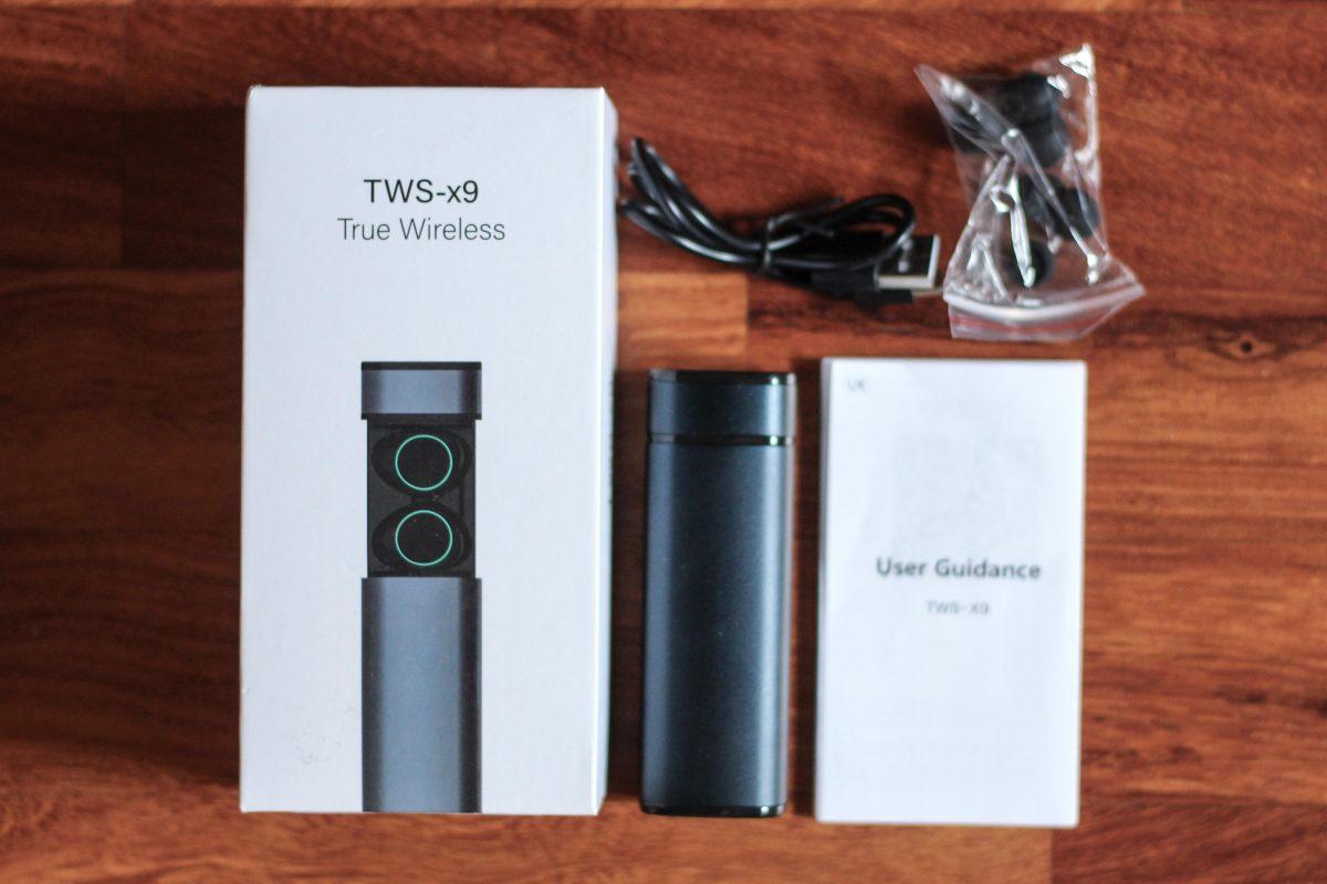 214ebad9f25 Headphone review true wireless Muzili TWS-x9: a pleasant surprise ...
