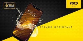 Xiaomi POCO F1 resistência à água