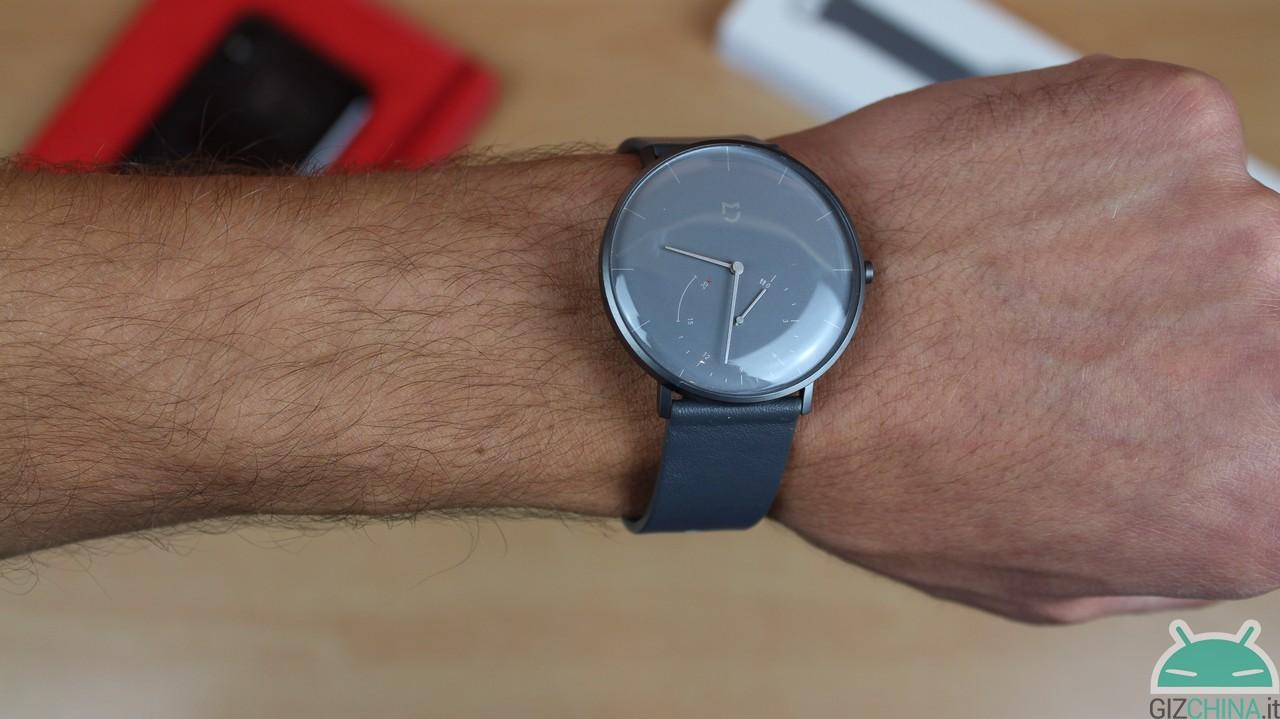 95d93f4a Обзор Xiaomi Mijia Quartz Watch: гибридный, но элегантный - GizChina.it