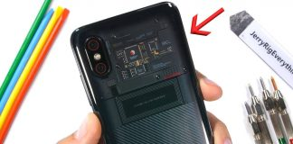xiaomi mi 8 explorer edition teardown jerryrigeverything