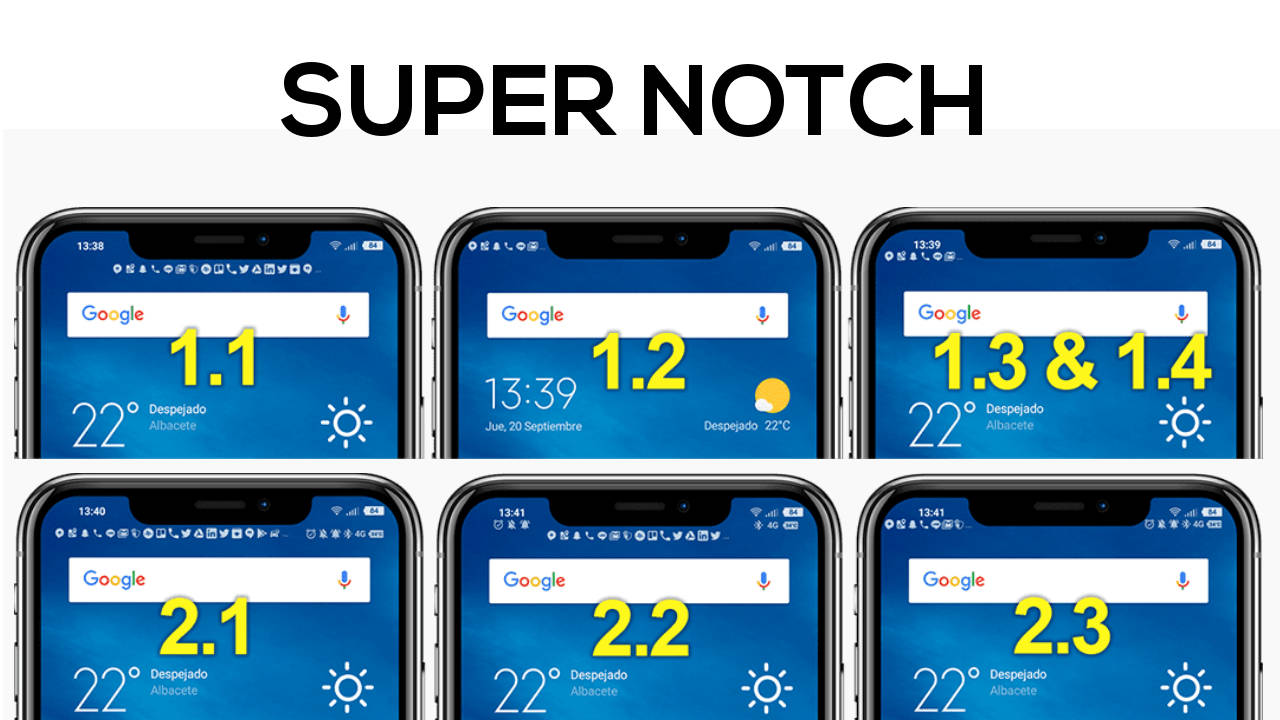 xiaomi mi 8 pocophone f1 notifiche super notch
