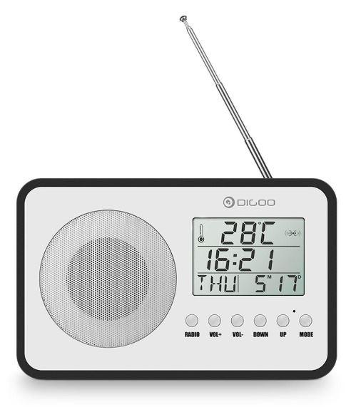 Digoo radio sveglia Vintag – Le migliori marche Banggood
