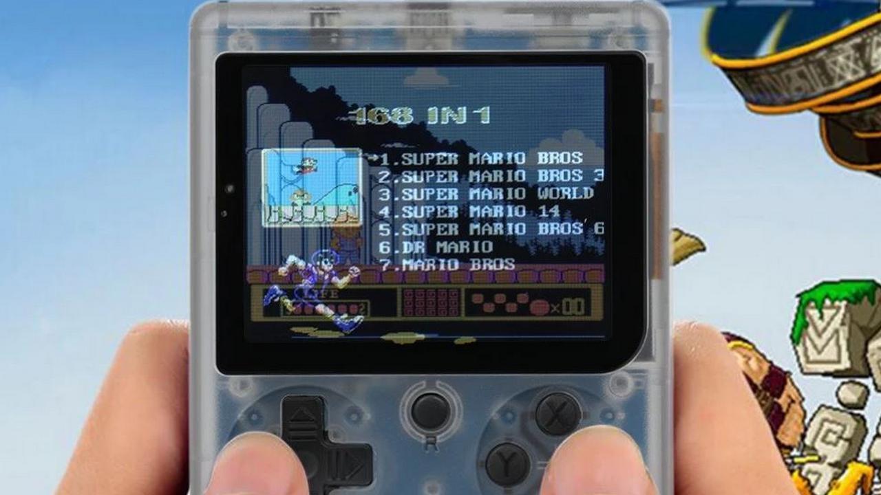 Retro Mini 2: a dive into the past with 168 games! | Flash Sale