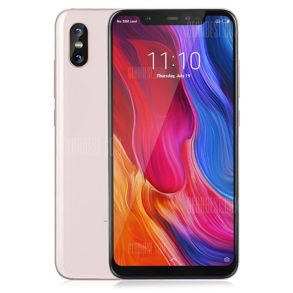 Xiaomi Mi 8 6/64 GB GLOBAL ROM – GeekBuying