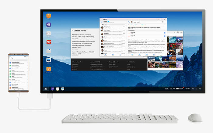 huawei modalità desktop