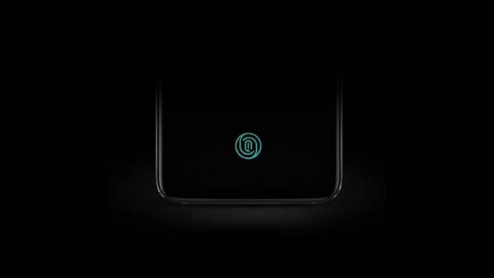 oneplus 6t lettore d'impronte nel display screen unlock