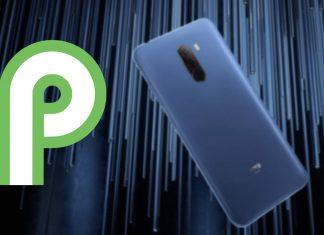 pocophone f1 android 9.0 pie