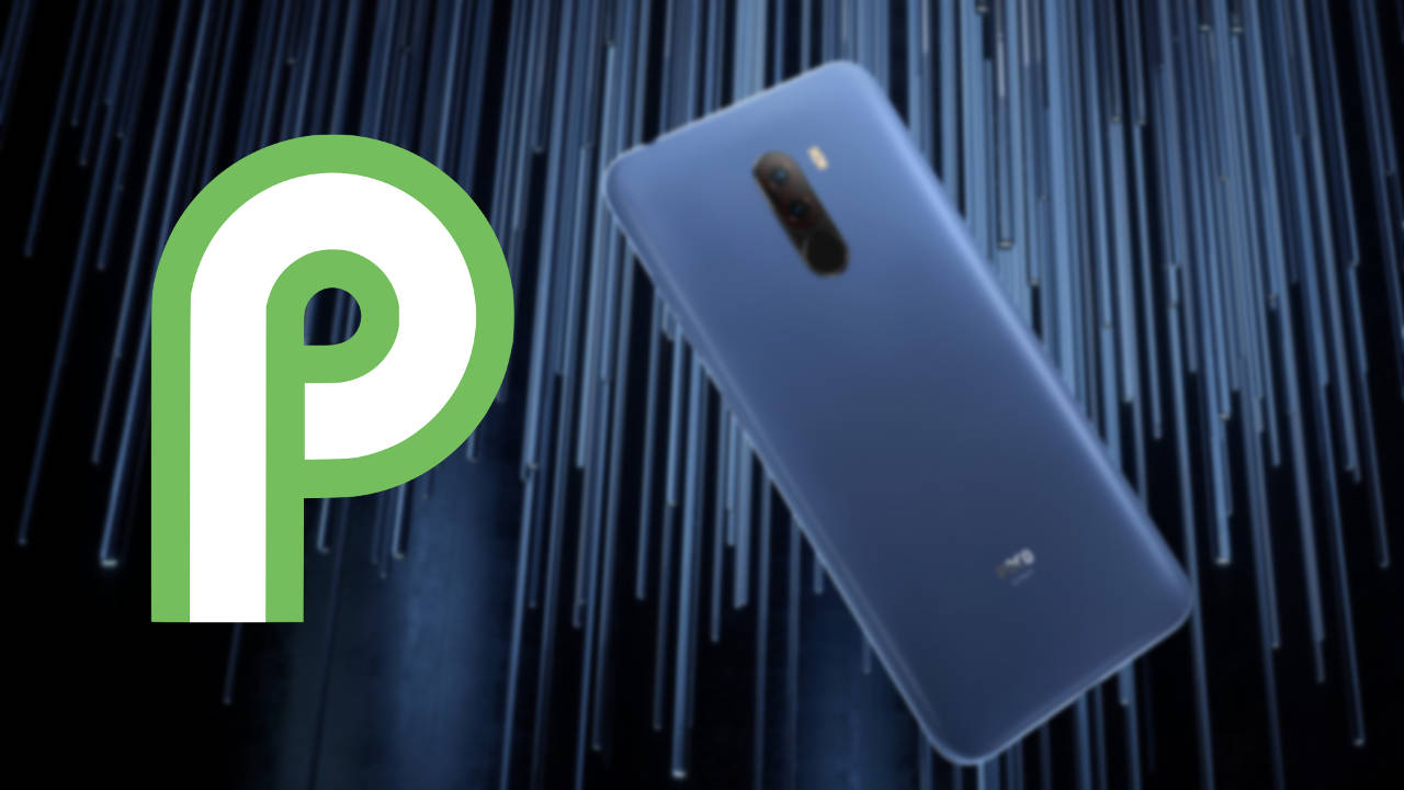 Pocophone F1: here's how to install Android 9 0 Pie Stock