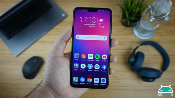 Honor View 10 Lite: l'aggiornamento ad Android 9 Pie arriva in Italia
