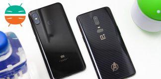 OnePlus 6 gegen Xiaomi Mi 8