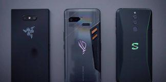 Xiaomi schwarzer Hai 2 Asus Rog Razer Telefon 2
