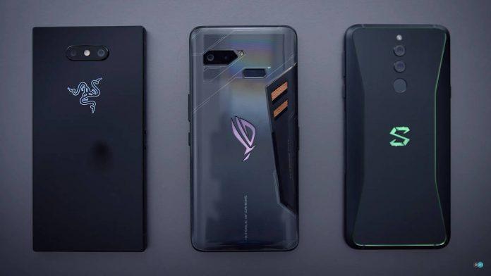 Xiaomi tiburón negro 2 teléfono asus rog razer 2