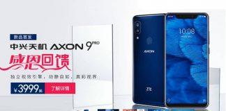 zte axon 9 pro preço china