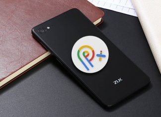 zuk z2 pixel experience android 9.0 pie