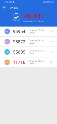 Huawei Mate 20 Pro Benchmark