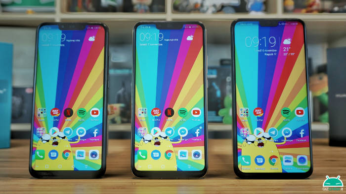 confronto huawei mate 20 lite vs honor view 10 lite vs huawei p smart+