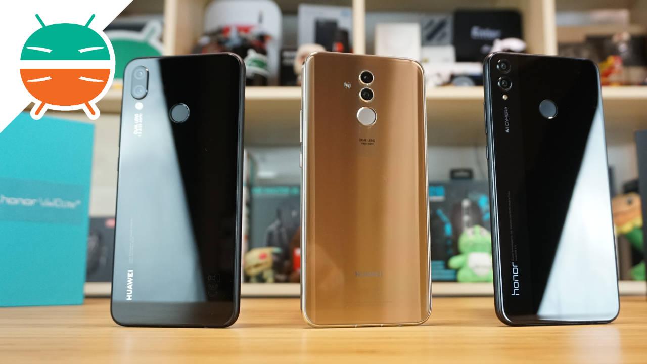 Huawei p smart vs mate 10 lite