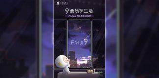 huawei gestures full screen emui 9