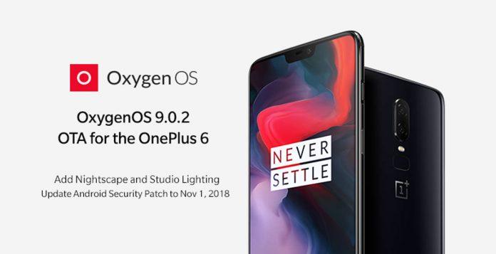 oneplus 6 oxigenas 9.0.2 nightscape