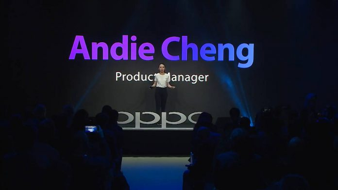 oppo andie cheng