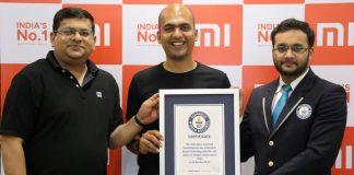 xiaomi guinness world record
