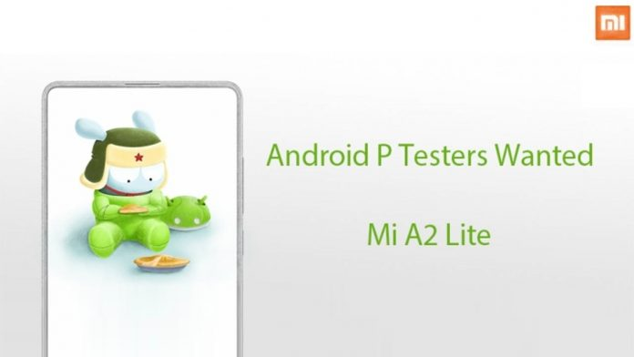 Xiaomi mi a2 Lite Android 9.0 pie test beta