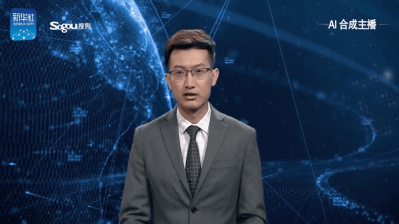 Cina, debutto in televisione per il primo presentatore virtuale di telegiornale
