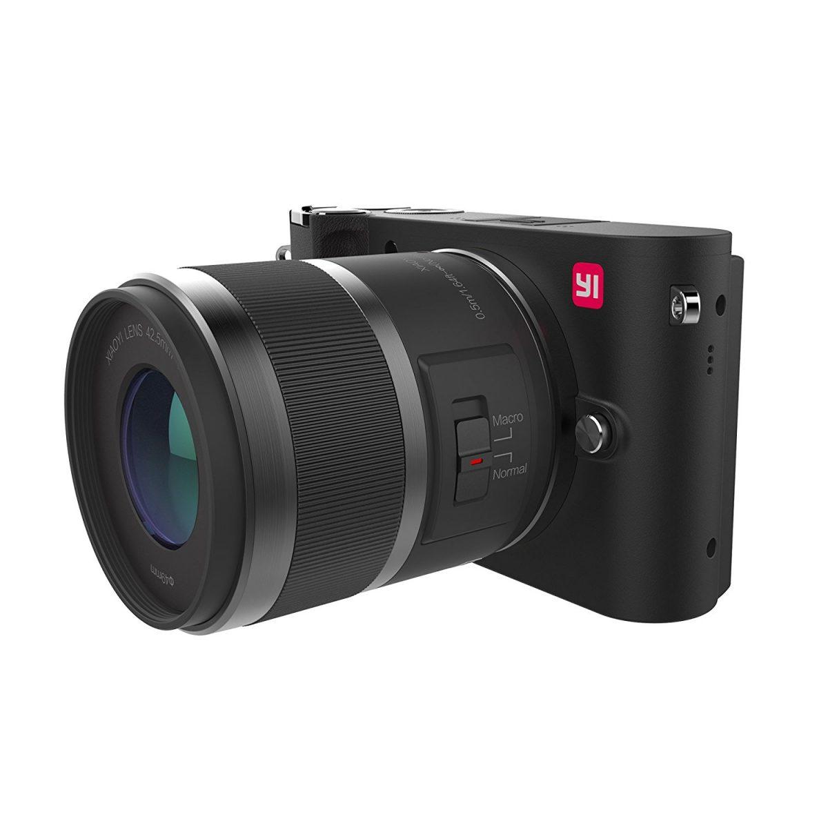 Lente intercambiável YI M1 sem espelho 2 12-40mm & 42.5 mm - Amazon