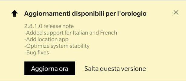 amazfit pace italiano