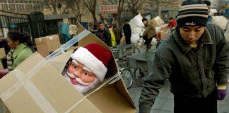 China Weihnachten