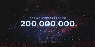 huawei 200 milioni di smartphone venduti