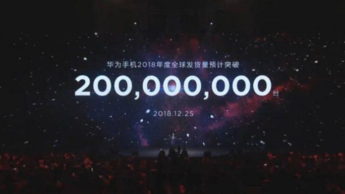 huawei 200 millones de teléfonos inteligentes vendidos