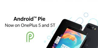 oneplus 5 oneplus 5t android 9.0 pie tlenuo 9