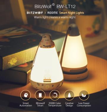 BlitzWolf BW-LT12 Smart Night Light – Banggood