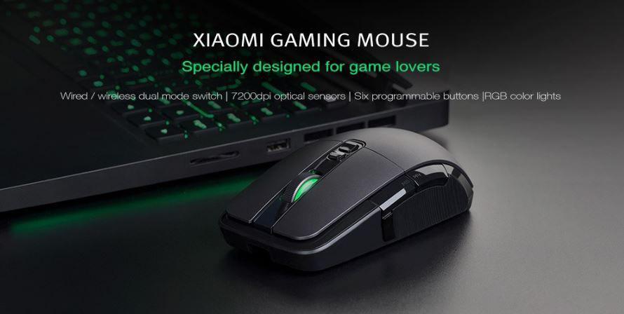 Mouse de jogos Xiaomi mi - Banggood