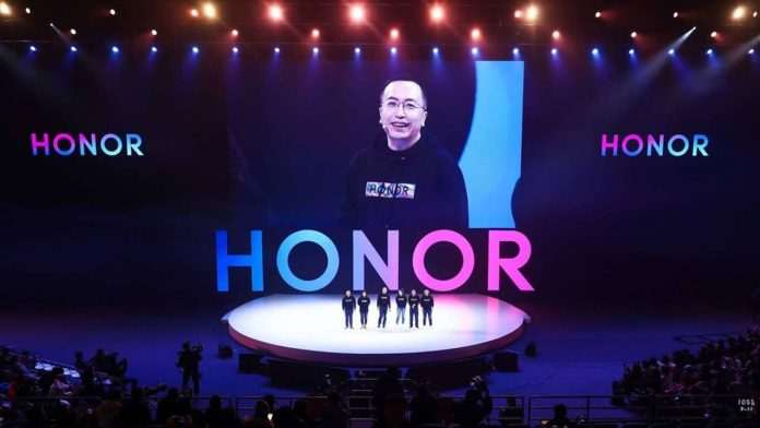 logotipo de honor george zhao