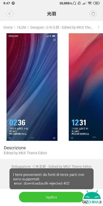 How to install third-party themes on MIUI 9 onwards Guide - GizChina it