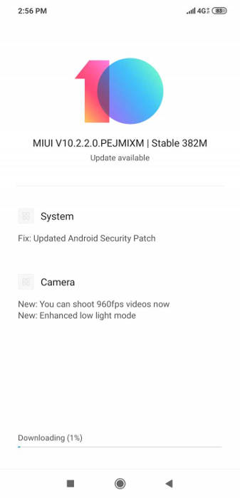 pocophone f1 miui 10.2.2.0 estable