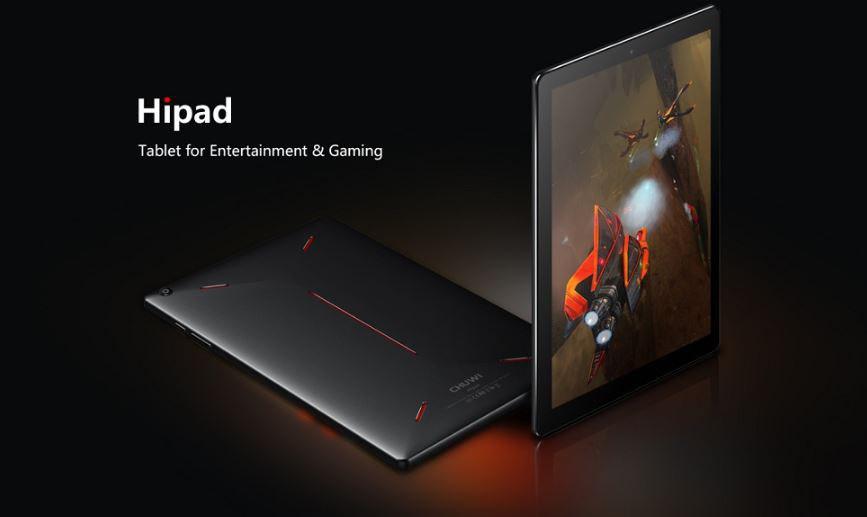 CHUWI HiPad Wi-FI LTE Banda 20 – Banggood