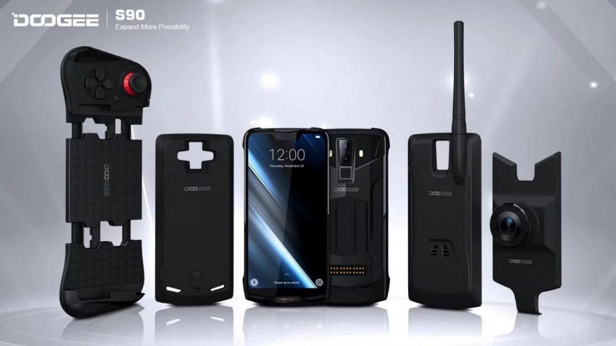 doogee s90 smartphone modulare