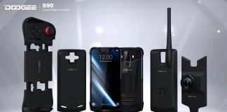 smartphone modular doogee s90