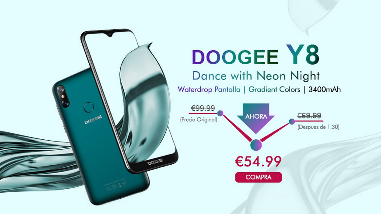 Doogee Y8 debuts on MyeFox at the super price of 55