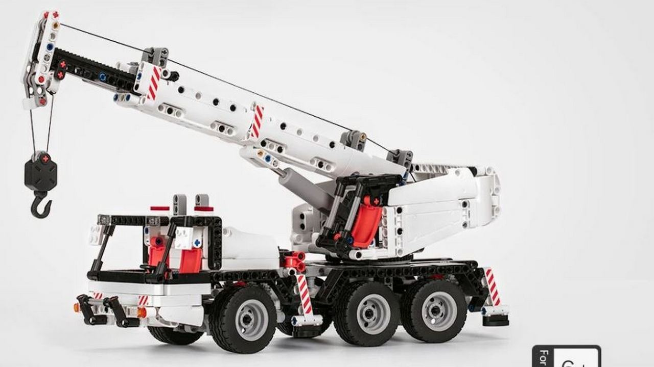 Xiaomi Mitu Building Blocks Miniature Crane – TomTop