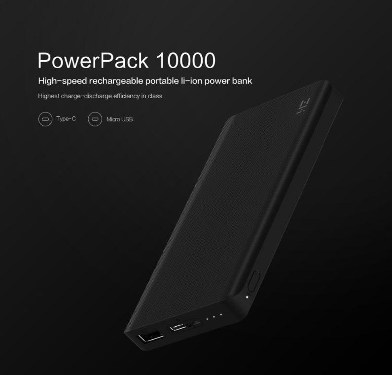 Xiaomi ZMI QB810 10.000 mAh - Banggood